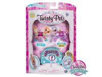 Twisty Petz 3 Pack Bubbleyum Kitty & Sugarstar Flying Unicorn
