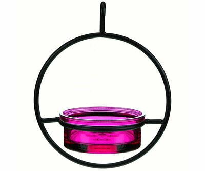 Couronne Co Fuchsia Sphere Hanging Bird Feeder COURM04520007