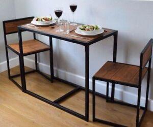 kenzie mahogany shop breakfast pier table set brown imports