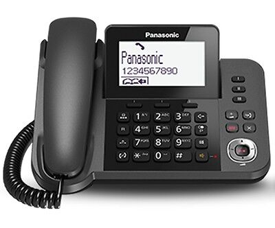 PANASONIC TOP QUALITY SPEAKERPHONE + ANSWER SYSTEM FOR HOME OR OFFICE DESK/WALL