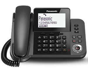 Panasonic Handsfree Telephone Ans System Home Office Desk Wall Only 27 50