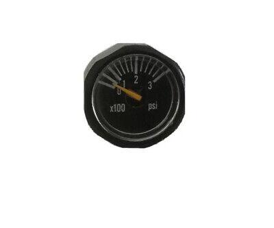 32 Degrees Paintball Gun HPA CO2 1200 PSI Mini pressure Gauge Free Shipping