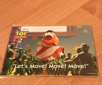 TOY STORY 2 - SET OF 6 OFFICIAL POSTCARDS - DISNEY STORE - 1999
