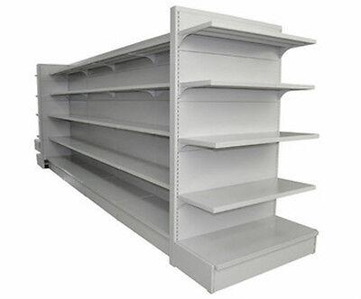 2100mm Wall Shelves Shop Supermarket Shelving Wall Gondola Offlicence Grocery