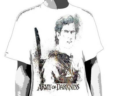 ARMY OF DARKNESS (EVIL DEAD) - Slatters T-shirt - NEW - LARGE ONLY *DISCOUNTED*