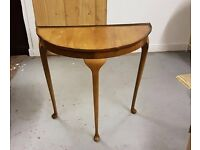 Stunning Retro Half Moon Table