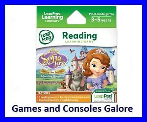 NEW LeapPad Ultra, Sofia the First Reading Game, LeapPad 2 & Leap Pad 1 LeapFrog