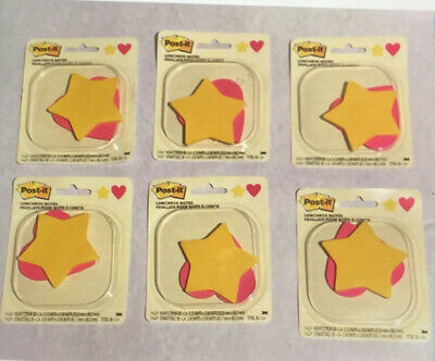 Lot Of 6 Post It Lunchbox Notes