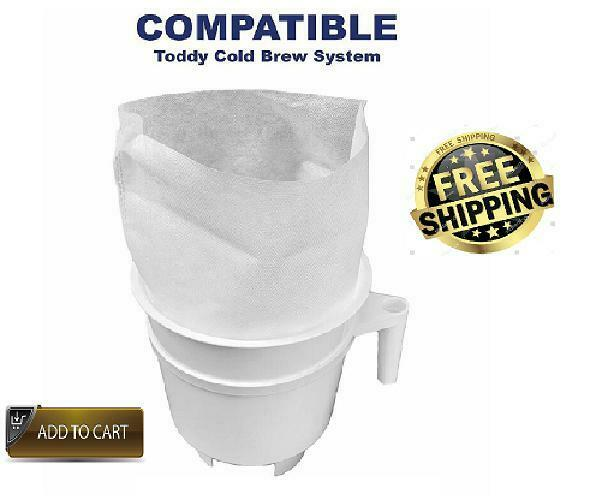 20 ULTRA-STRONG Cold Coffee FILTER Bag Cold Brewing System C