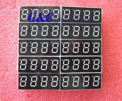 2pcs 7 Segment 0.56 4 Digit Common Cathode Led Display