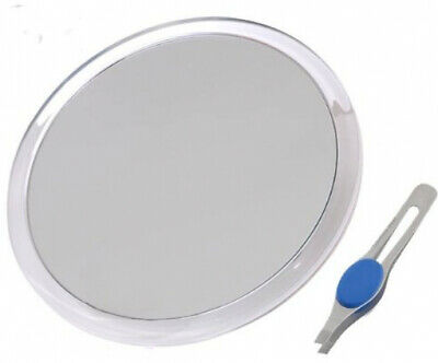 Magnifying Mirror 10X 8 in. Suction Cup Large Close-up With