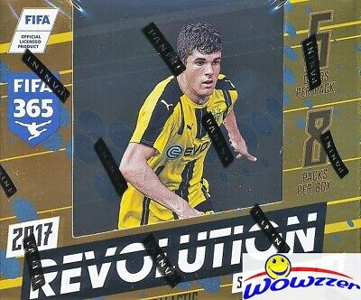 2017 Panini Revolution Soccer Factory Sealed HOBBY Box-8 Parallels+5 Inserts++
