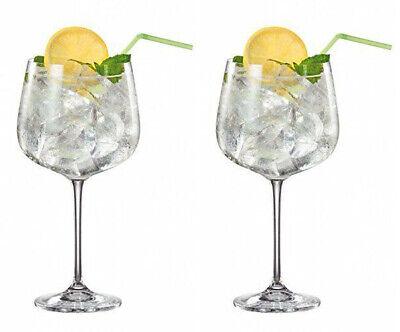 Giant BOHEMIA CRYSTAL PREMIUM ALQUITARA Wine gin tonic Glass cup 700ml -set...