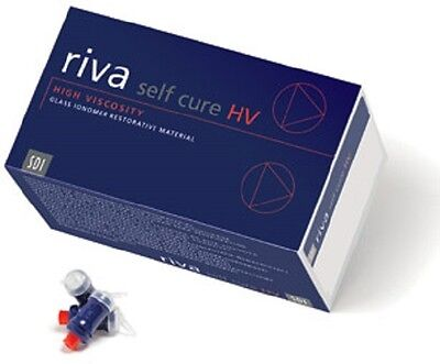 Dental Sdi Riva Self Cure Hv Glass Ionomer Capsules - A2 Color -