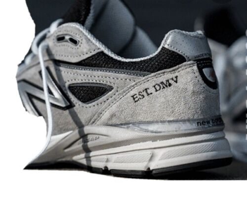 NEW BALANCE 990 V4 'EST DMV' GREY M990NBK4 Mens 10.5 – Last Of The V4 Series