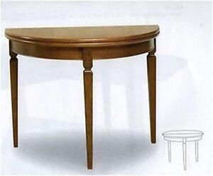 Tavolo consolle classica allungabile ingresso ebay for Ingresso casa classica