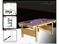 6ft Pool/Snooker Table
