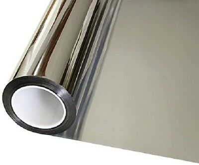 Window Tint One Way Mirror Film UV Heat Reflective Home Office Heat - Heat Reflective Window Film