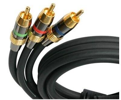 100 ft Premium Component Video Cable RCA - M/M 100 Component Video