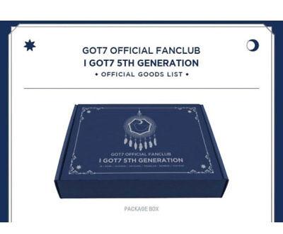 GOT7 Official Fanclub 5TH, I GOT7 GENERATION GOT7 Fanclub 5rd Fanclub Goods