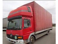 Left hand drive Mercedes-Benz Atego 814