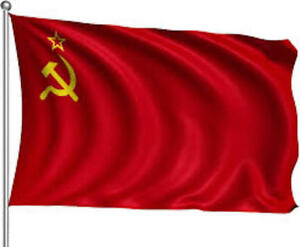 GIANT USSR SOVIET UNION COMMUNIST RUSSIAN RED NATIONAL FLAG