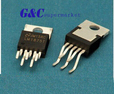 10pcs Ic Lm1875t Amp Audio Pwr 30w Ab To220-5 New Good Quality A3gs