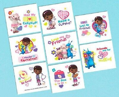 Disney Doc McStuffins Temporary Tattoos 32 pieces - Doc Mcstuffins Tattoos