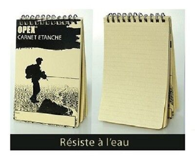 Notebook Waterproof Opex Pm 50 Pages 75 5 18in Army Police Para Ls