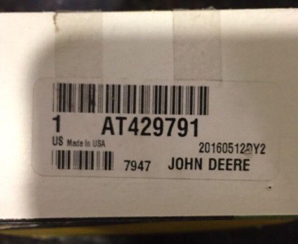 John Deere OEM Pressure Relief Valve AT429791 Fan Solenoid