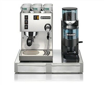 espresso machine maker silvia v4 and rocky