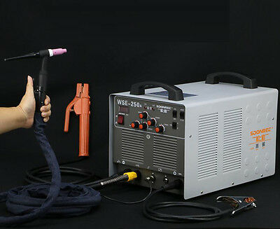 ECO WSE250A Inverter AC/DC TIG/MMA 3 In 1 Welding Machine Aluminum Welder 220V, used for sale  Shipping to Canada
