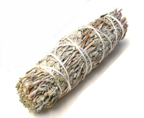 Blue Sage Wand 4 inch Wicca Pagan Native Smudge