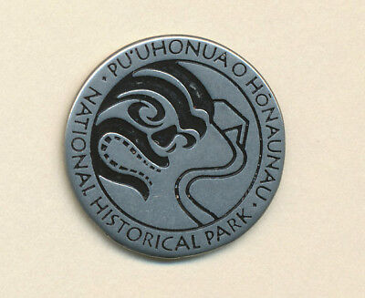 Hawaii * NPS Pewter Collector Token Pu'uhonua Honaunau  Place of Refuge