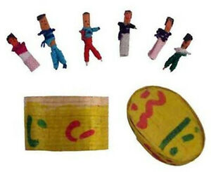 Six-6-Guatemalan-WORRY-DOLLS-in-Box-with-Description