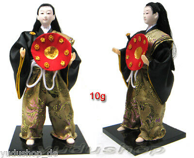 Beautiful Japan Fighter Doll From Silk No: 10g