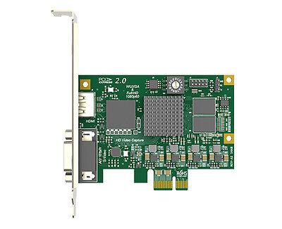HDMI/DVI/Component 1080p60hz video capture card Velocap HD120C- MAC /linux for sale  China
