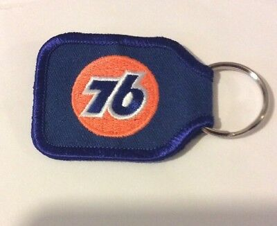 New Union 76 Key Chain Keychain New Gas Gasoline 76 Logo Advertising Fob