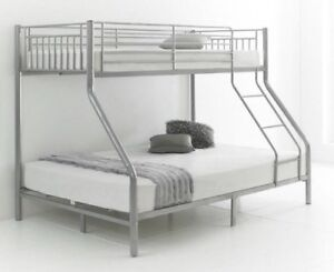 Bunk Bed with Double Mattress on bottom