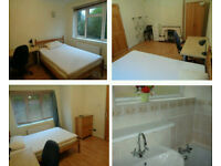 Large Furnished room in house share near UoB and QEH- inc. bills