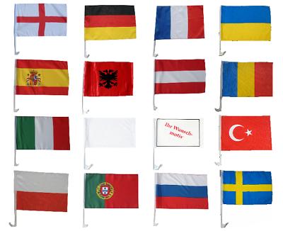 Autofahne Deutschland 2018 Autoflagge Fussball Russland Auto Fahne Autofahnen