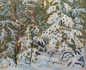 "Limited Edition ""Winter Morning"" by Tom Thomson"