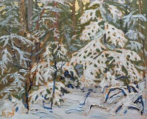 """Limited Edition """"Winter Morning"""" by Tom Thomson London Ontario image 1"""