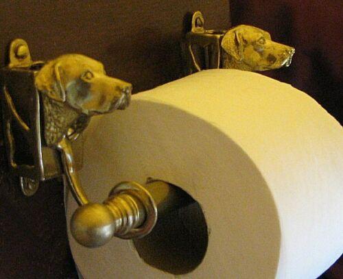 CHESAPEAKE BAY RETRIEVER, Bronze Toilet Paper Holder OR Paper Towel Holder!