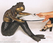 Bronze Mermaid Table