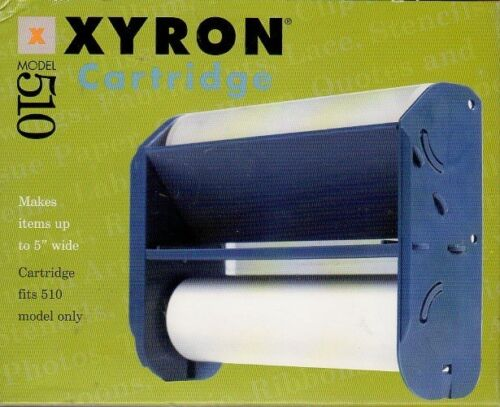 XYRON 510 REPLACEMENT CARTRIDGES ~ LAMINATE PERMANENT /  REPOSITIONAL