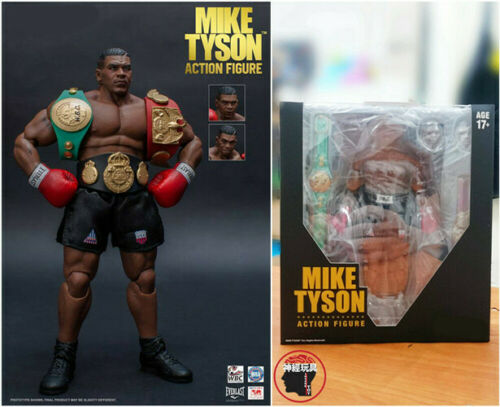 1//12 Storm Collectibles Boxing Champion Mike Tyson 3 Head Sculpt Action Figure