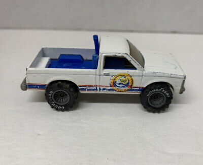 VINTAGE HOT WHEELS 1983 BEACH PATROL WHITE REAL RIDERS GREY HUB MALAYSIA