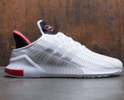 "New Mens ADIDAS CLIMACOOL 02/17, WHITE / FOOTWEAR WHITE / GREY ONE, Size 8, ""OG"""