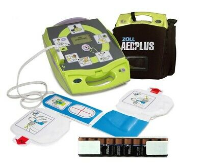 New In Box Zoll Aed Plus With Case New Batteries 2025 Cpr-d Padz Free Shipping